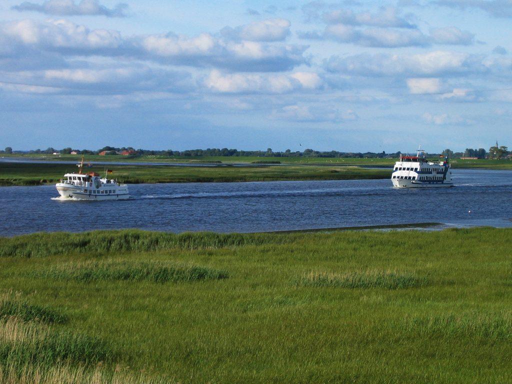 Insel Amrum Adler Schiffe Westk 252 Stenportal