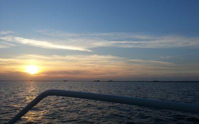Sonnenuntergang Hooge